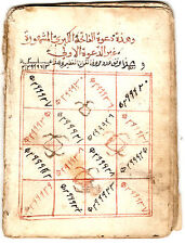 TWO RUHANI / ASTROLOGY MANUSCRIPTS (OCCULT):