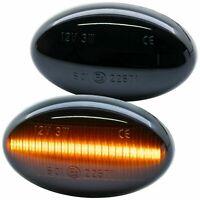 LED SEITENBLINKER schwarz für SMART Fortwo   Typ 450 452   BJ 1998-2007 [7233-1]