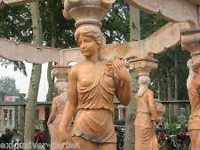 Gartenlaube aus Naturstein, Pavillon, Marmorpavillon, Laube, Gartenpavillon