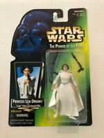 Star Wars Power of the Force POTF2 1 .01 Princess Leia Organa Green