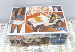 1980 THE DUKES OF HAZZARD DAISY'S JEEP CJ 1/25 MPC MODEL KIT