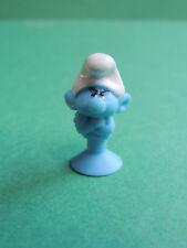 Schtroumpf Grognon Micro Popz figurine Micropopz stikeez Super U 2017 Smurf