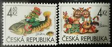 Ceska Republika, 1998 r. ** Mi. 187-188 ryby fish Fisch