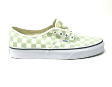 Vans Authentic Checkerboard Ambrosia Men's 11.5 Skate Shoes New Green