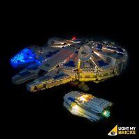LIGHT MY BRICKS - LED Light kit for LEGO Kessel Run Millennium Falcon 75212