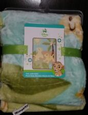 NEW ADORABLE DISNEY BABY THE LION KING SIMBA PLUSH SUPER SOFT BABY BOY'S BLANKET