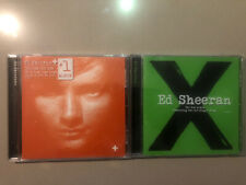 2 Ed Sheeran Chart Topping CD Albums - X, + (plus)