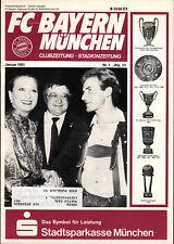 BL 80/81 FC Bayern München - Monatsausgabe Januar 1981, Karl-Heinz Rummenigge