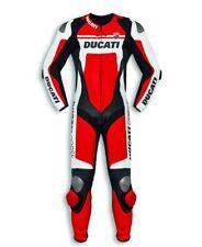 Genuine Dainese Ducati Corse C4 Men's 2020 One Piece Leather Suit, 9810451