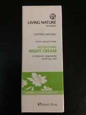 Living Nature, Nourishing Night Cream 50 ml Help Skin Regenerate