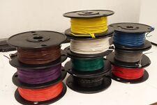 UL1015 22 awg 600 Volt hook up wire - 22 gauge - 100 ft. Any Color!