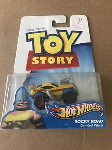 2011 Mattel Disney Pixar Hot Wheels Toy Story ROCKY ROAD Die-Cast Vehicle