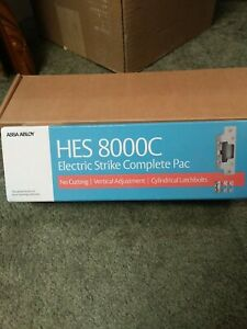 """HES 8000C Electric Strike Complete Pac for Latchbolt Locks up to 5/8"""" throw NEW!"""