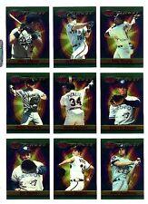 1994 Topps Finest Baseball: Key singles & inserts, U-PICK, NM/M, $1.95 and UP.