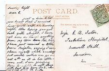 Genealogy Postcard - Family History - Suter - Muswell Hill - London   U2745