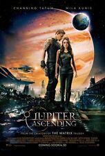 Jupiter Ascending movie poster 11 x 17 inches Channing Tatum poster, Mila Kunis