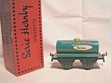 TRAINS HORNBY / HACHETTE ech/scale O 1/43 - WAGON CITERNE MOTOROL + Boîte