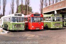Crosville NFM290M, East Midland LHN94K & Trent VCH317G 21/04/74 Bus Photo
