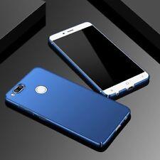 Xiaomi Mi A1 360° Degree 4 Side Covered Matte Hard Back Case Cover N BLUE 4 Cut