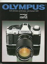 Photography Reference Guide For The Olympus OMG