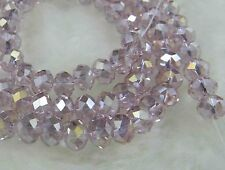 5X8MM 71pcs Multicolor Crystal Faceted Loose Beads AB+AAA