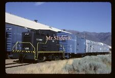 Original Slide U.S. Army  Davenport 44T 1216 W/Train In 1992 AT Hill AFB UT