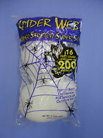Halloween Decoration Spider Web Super Stretch Up to 200 sqft Spider Not included