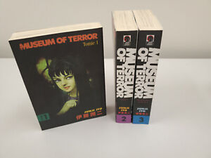 Museum of Terror 1-3 Junji Ito Complete English Manga Set Tomie anthology Good