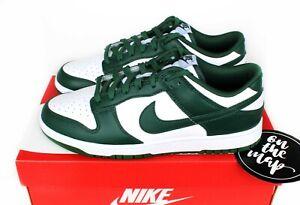 Nike Dunk Low Retro Spartan Team Green White Michigan UK 5 6 7 8 9 10 11 12 US