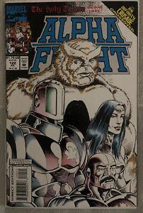 Marvel Comics Alpha Flight #122 1993 VF+ 8.5 Pat Broderick Infinity Crusade