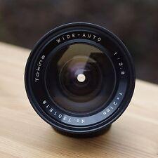 Tokina Wide-Auto 1:3 .8 f = 21 mm ** m42 Ultra Wide Angle Lens