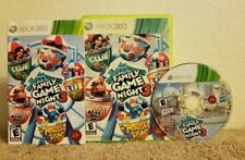 Hasbro Family Game Night 3 (Microsoft Xbox 360, 2010) Complete Clean Disc