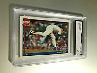 NOLAN RYAN (HOF) 1991 Topps #1 GMA Graded 10 Gem Mint