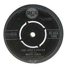 "Mario Lanza - The Lord's Prayer  - 7"" Vinyl Record Single"