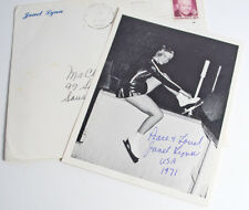 1971 1972 Ice Skater Janet Lynn Signed Photograph Letter Auto Autograph