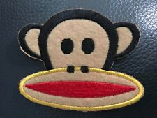 Monkey Face Iron On Patch - Sew cute cool