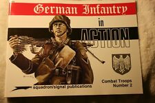 German Infantry in Action Squadron Signal Armor Book # 3002 Very Good Condition