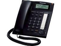 Panasonic Kx-ts880b Corded, Cid, Speaker, Black (kxts880b)