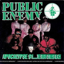 Public Enemy Apocalypse 91 ... The Enemy Strikes Black 1991 Columbia CD