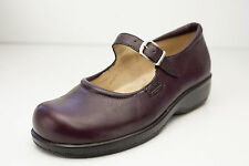 Trotters Softwalk Size 5.5 Burgundy Mary Janes Women's Shoes
