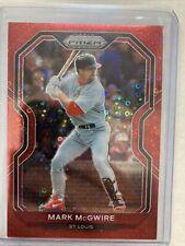 Mark McGwire 2021 Prizm Baseball Red Disco Prizm #d /99 Cardinals