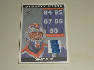 2015 Sportkings Dynasty Kings Memorabilia PATCH Grant Fuhr