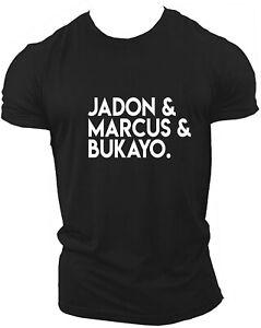 jadon Jason & Marcus & Bukayo Jason And Marcus And BukayoTee T-Shirt JMB BLM