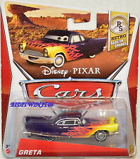 DISNEY PIXAR CARS RETRO RADIATOR SPRINGS GRETA #6/8