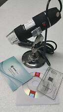 MICROSCOPIO DIGITALE USB 500X FOTO E VIDEO 8 LED 2.0MPX PC E NOTEBOOK