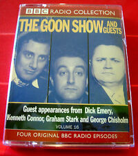 Goon Show Classics Vol.16 2-Tape Audio The Goons Spon/Frankenstein/The £50 Cure+