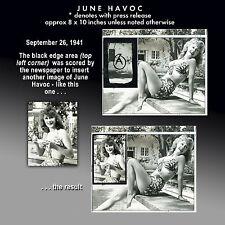 """JUNE HAVOC Baby June of """"Gypsy"""" 18 orig studio photos 1941-1953 A1 Collection"""