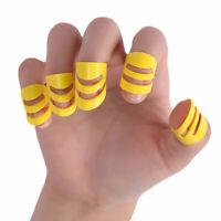 5Pcs Plastic Classical Guitar Finger Nail Thumb Fingertip Picks Plectrum Set Bum