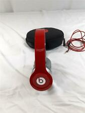 Beats by Dr. Dre Solo HD Wireless Over the Ear Headphones  -RED-