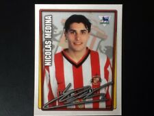 Merlin Football Sticker #383 2001-02  Nicolas Medina Sunderland Mint Condition